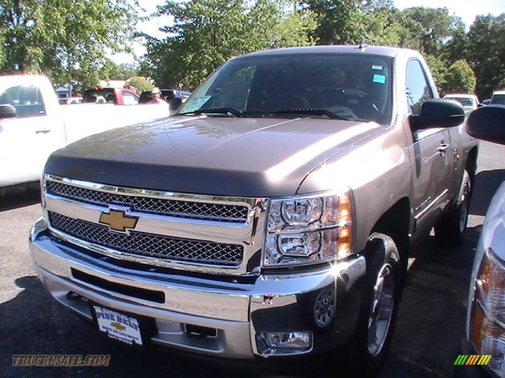 2013 chevrolet silverado 1500 lt regular cab 4x4 in mocha steel metallic 108751 truck n 39 sale. Black Bedroom Furniture Sets. Home Design Ideas