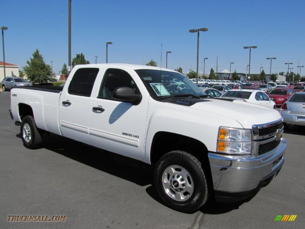 2011 chevrolet silverado 2500hd lt crew cab 4x4 in summit white 155461 truck n 39 sale. Black Bedroom Furniture Sets. Home Design Ideas
