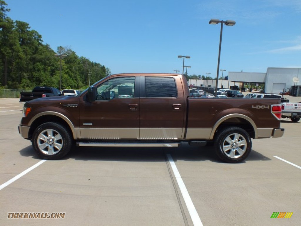 2012 ford f150 lariat supercrew 4x4 in golden bronze metallic photo 8 c33530 truck n 39 sale. Black Bedroom Furniture Sets. Home Design Ideas