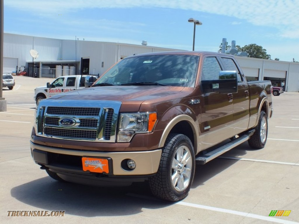 2012 ford f150 lariat supercrew 4x4 in golden bronze metallic photo 9 c33530 truck n 39 sale. Black Bedroom Furniture Sets. Home Design Ideas
