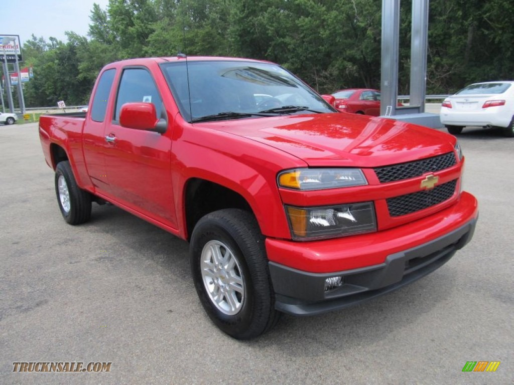 2012 Chevrolet Colorado LT Extended Cab 4x4 in Victory Red photo #5