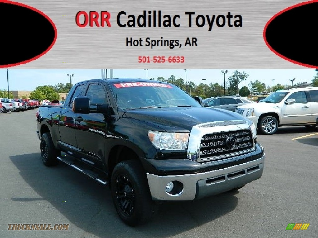 2008 toyota tundra double cab in black photo 10 022189 truck n 39 sale. Black Bedroom Furniture Sets. Home Design Ideas
