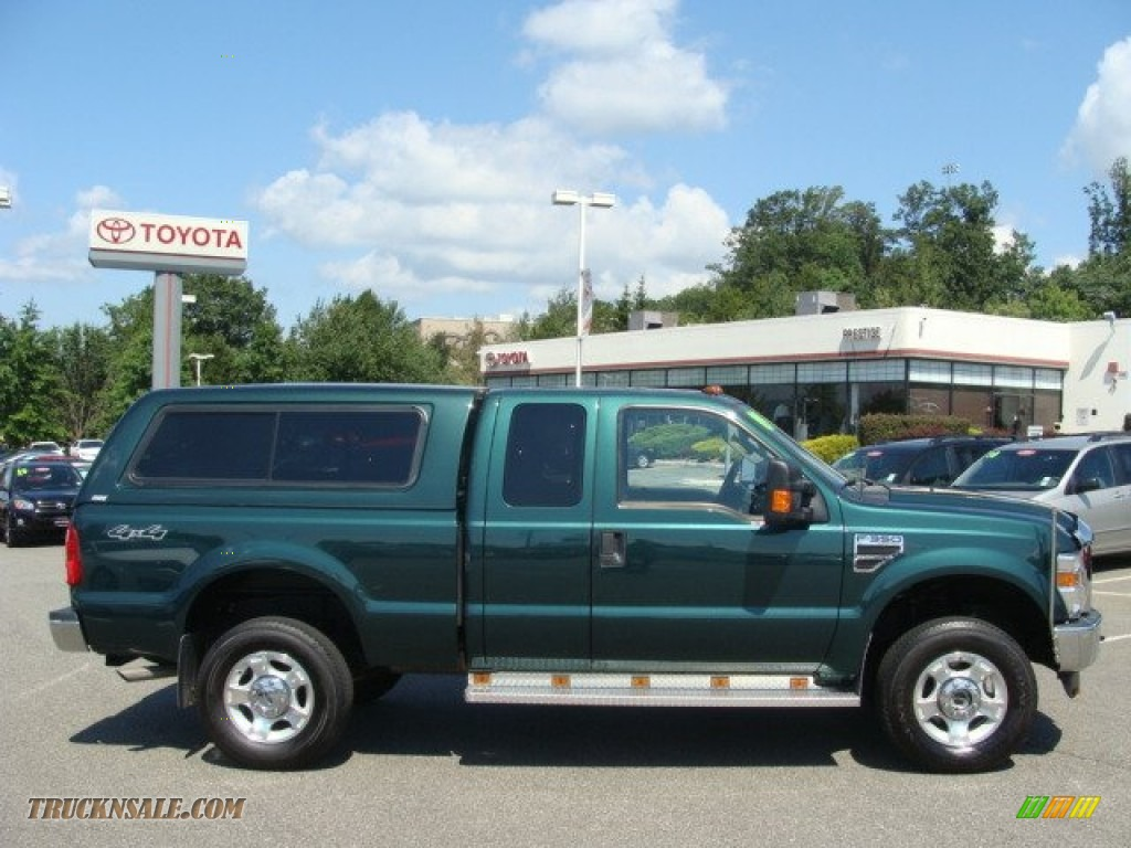 2009 Ford F350 Super Duty Xlt Supercab 4x4 In Forest Green
