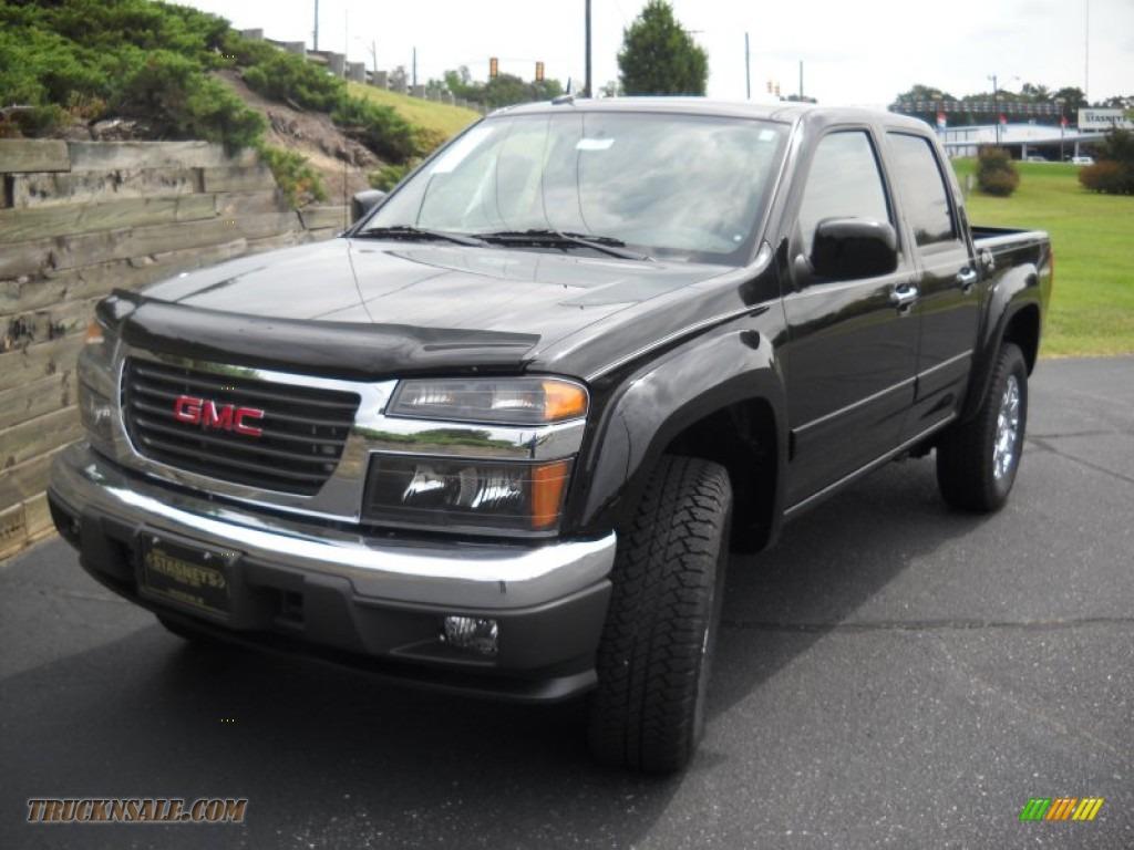 2012 gmc canyon sle crew cab in onyx black 155901 truck n 39 sale. Black Bedroom Furniture Sets. Home Design Ideas