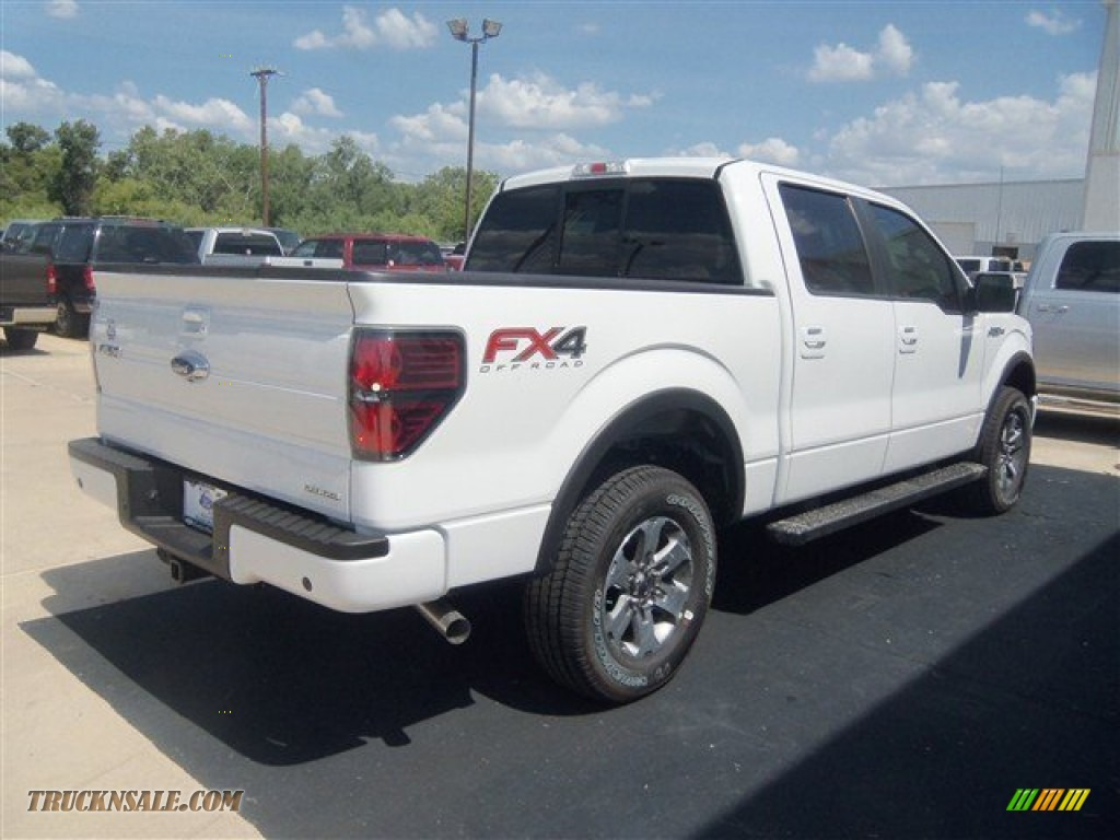 2012 ford f150 fx4 supercrew 4x4 in oxford white photo 6 c94684 truck n 39 sale. Black Bedroom Furniture Sets. Home Design Ideas