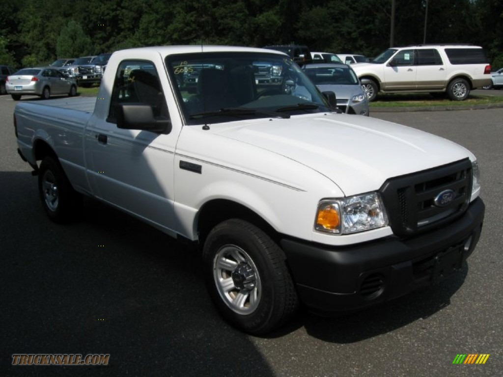 2010 ford ranger xl regular cab in oxford white photo 9 a66257 truck n sale