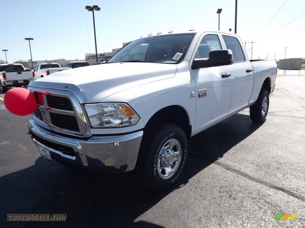 2012 dodge ram 3500 hd st crew cab 4x4 in bright white for Steve white motors inc