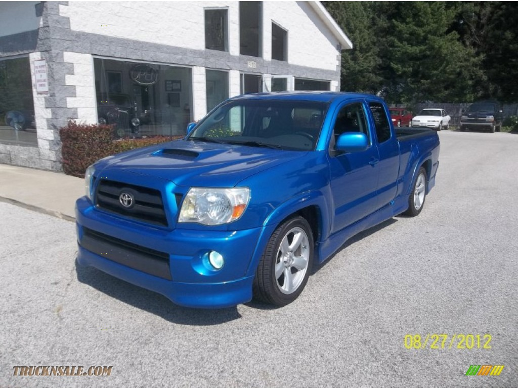 Toyota Of Muskegon >> 2008 Toyota Tacoma X-Runner in Speedway Blue - 518609 ...