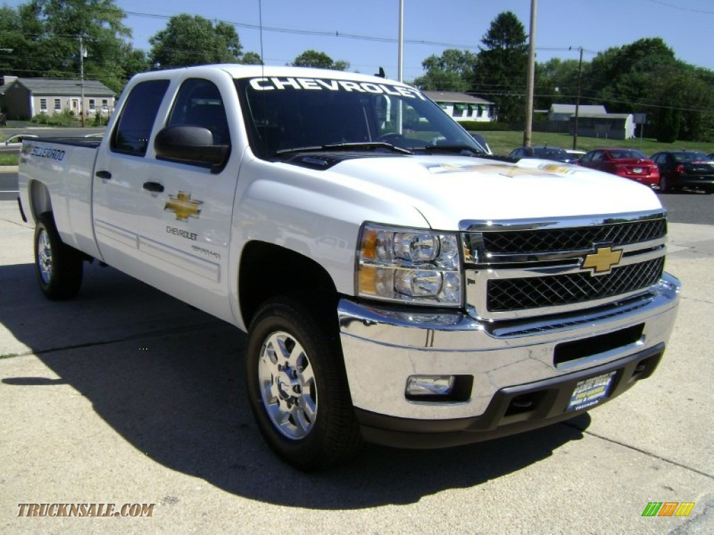 2012 chevrolet silverado 2500hd lt crew cab 4x4 in summit white photo 3 174326 truck n 39 sale. Black Bedroom Furniture Sets. Home Design Ideas