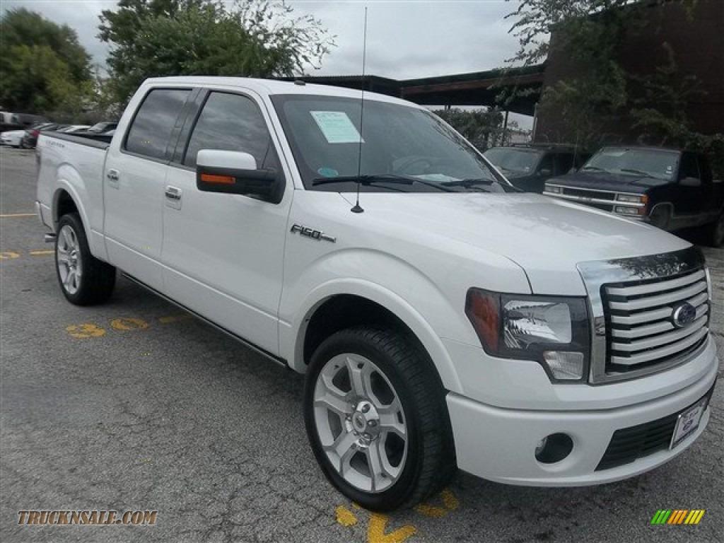 2011 ford f150 limited supercrew 4x4 in white platinum metallic tri coat b54837 truck n 39 sale. Black Bedroom Furniture Sets. Home Design Ideas