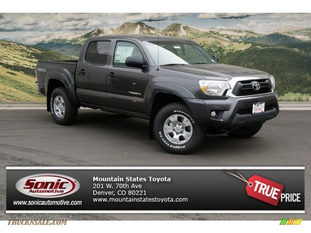 2013 toyota tacoma v6 trd double cab 4x4 in magnetic gray. Black Bedroom Furniture Sets. Home Design Ideas