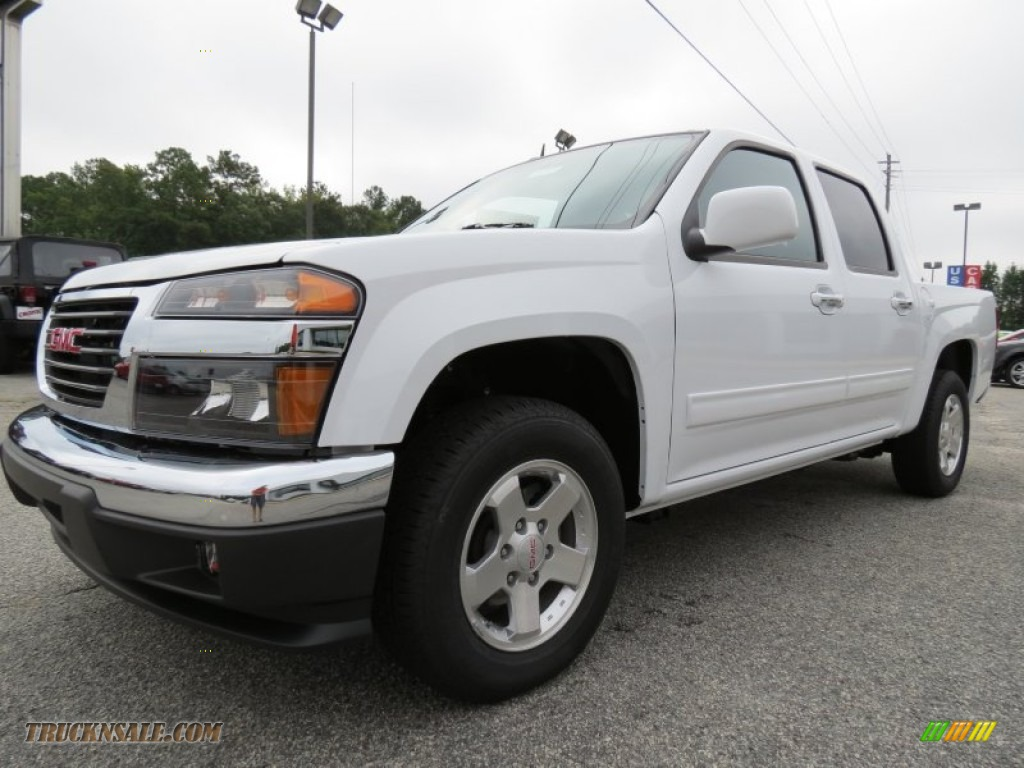 2012 gmc canyon sle crew cab in summit white photo 3 170351 truck n 39 sale. Black Bedroom Furniture Sets. Home Design Ideas