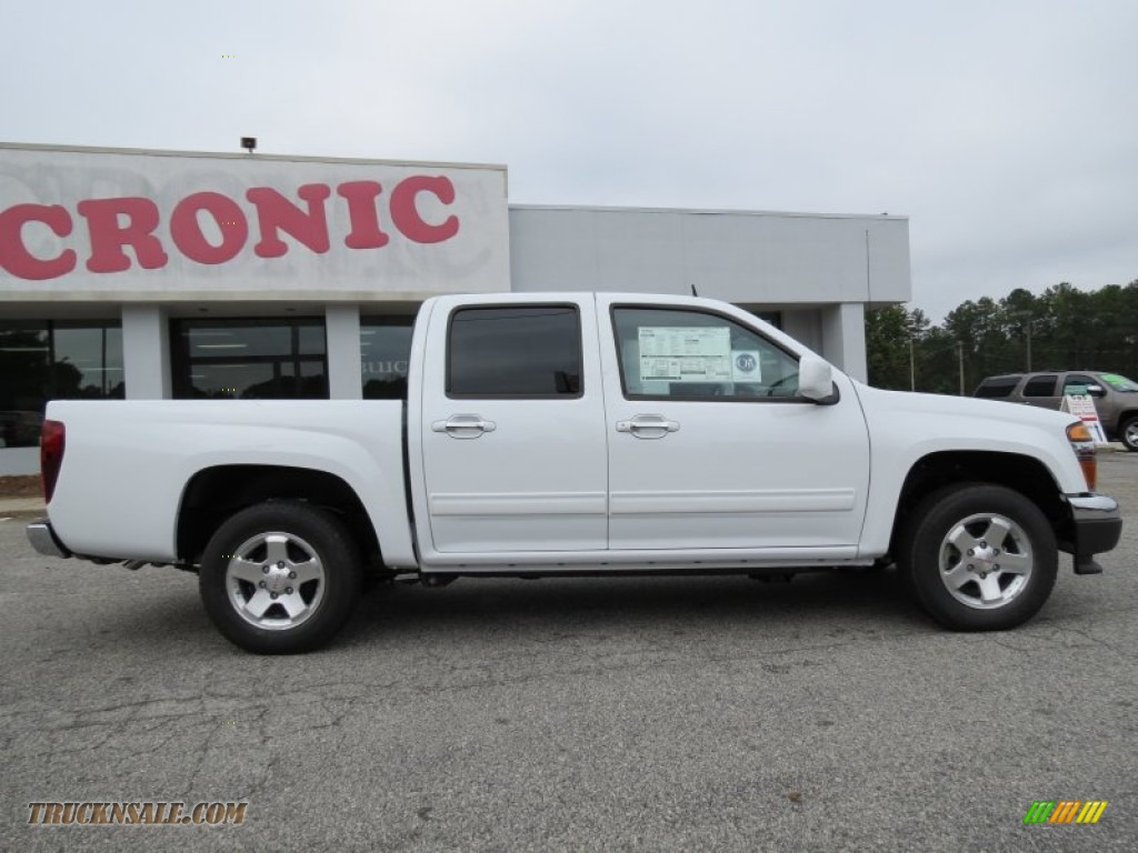 2012 gmc canyon sle crew cab in summit white photo 8 170351 truck n 39 sale. Black Bedroom Furniture Sets. Home Design Ideas
