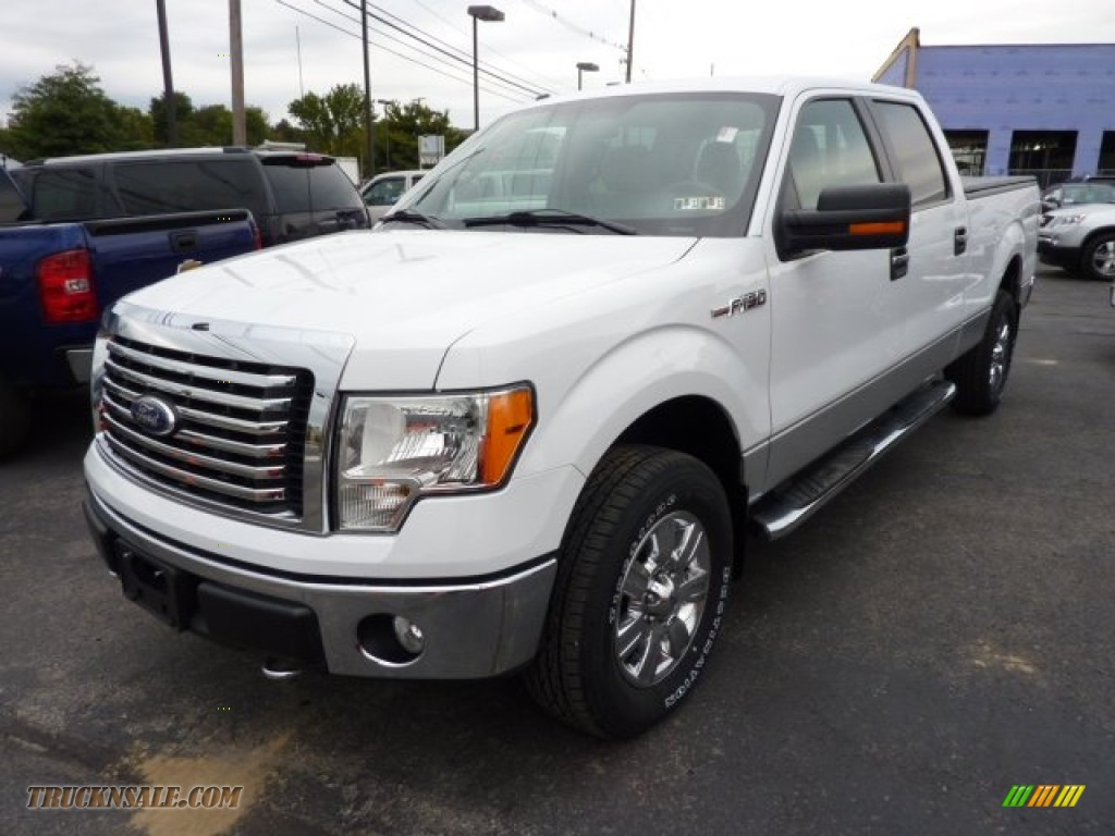 2010 ford f150 xlt supercrew 4x4 in oxford white photo 3 c82868 truck n 39 sale. Black Bedroom Furniture Sets. Home Design Ideas
