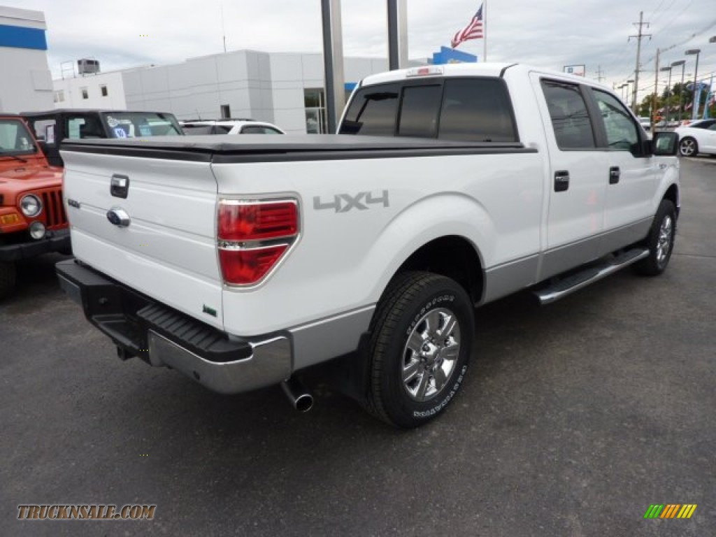 2010 ford f150 xlt supercrew 4x4 in oxford white photo 7 c82868 truck n 39 sale. Black Bedroom Furniture Sets. Home Design Ideas