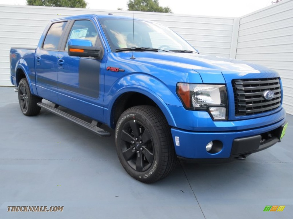 2012 Ford F 150 Fx4 Ecoboost For Sale 2012 Ford F150 FX4 SuperCrew 4x4 in Blue Flame Metallic - C55211 ...