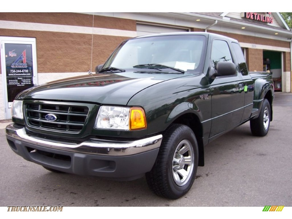 2001 ford ranger xlt supercab in woodland green metallic for Woodland motors phone number