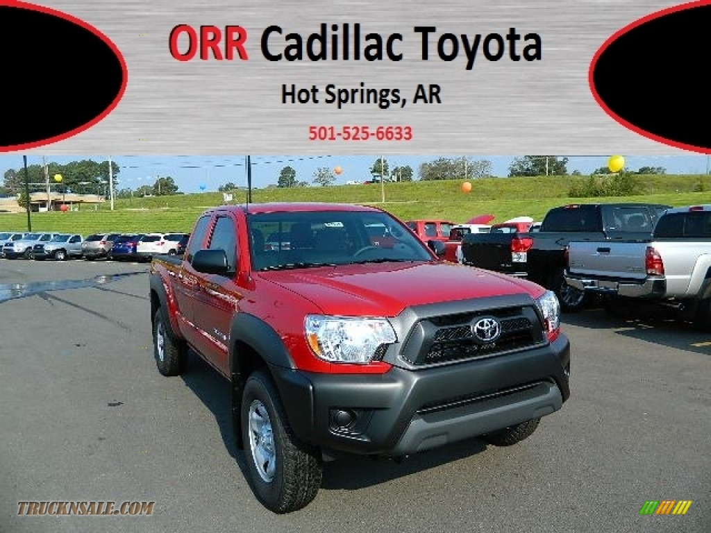 2013 toyota tacoma prerunner access cab in barcelona red metallic 015974 truck n 39 sale. Black Bedroom Furniture Sets. Home Design Ideas