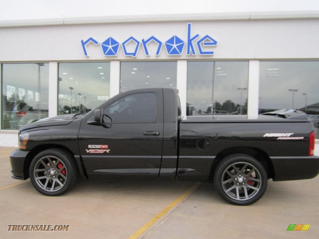 Worksheet. 2006 Dodge Ram 1500 SRT10 Night Runner Regular Cab in Black