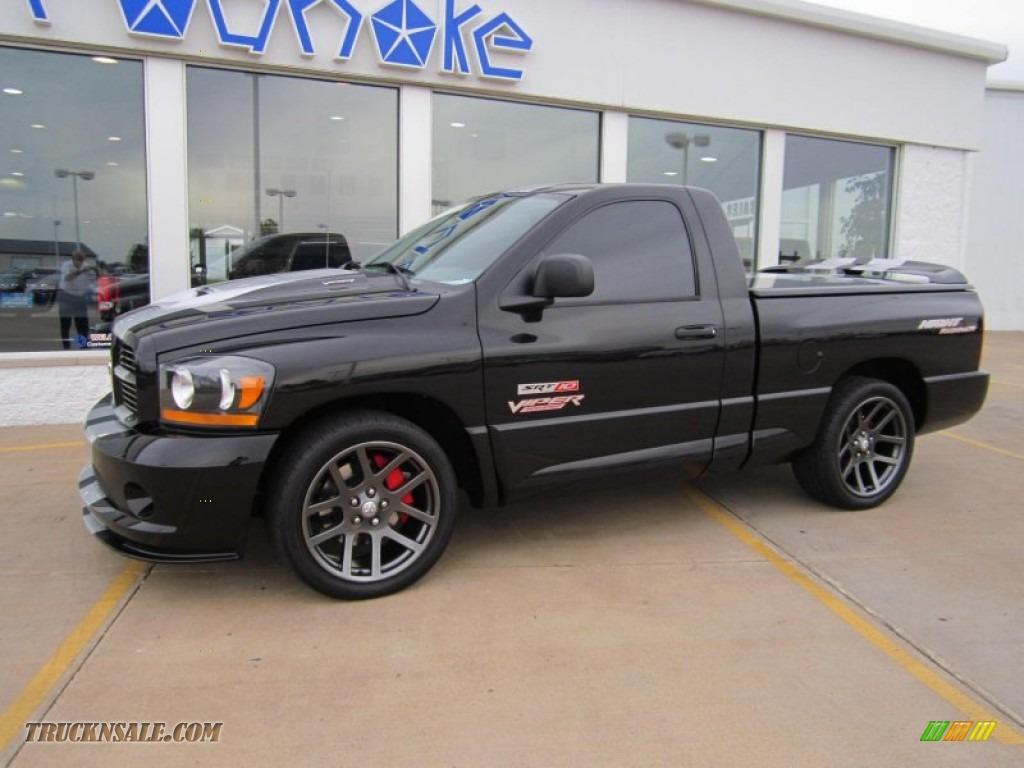 2006 Dodge Ram Srt 10 Night Runner For Sale >> 2006 Dodge Ram 1500 SRT-10 Night Runner Regular Cab in Black photo #13 - 269280 | Truck N' Sale