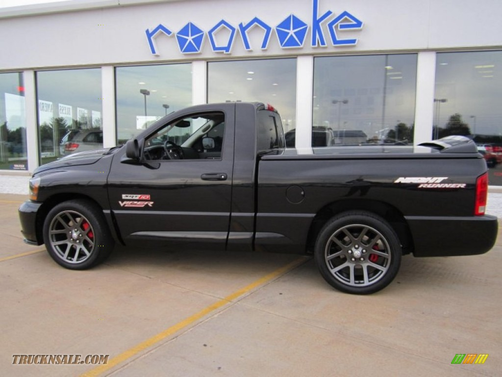 2006 dodge ram 1500 srt 10 night runner regular cab in. Black Bedroom Furniture Sets. Home Design Ideas
