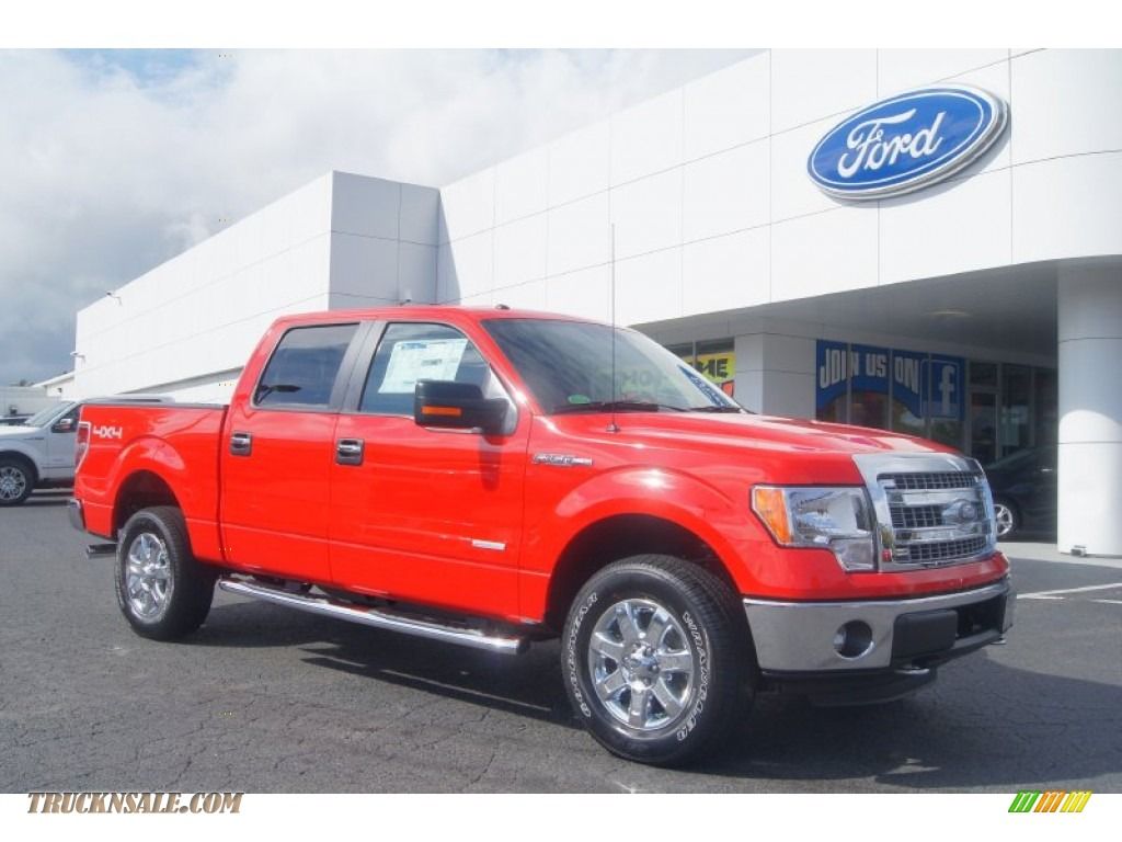 2013 ford f150 xlt supercrew 4x4 in race red a09998 truck n 39 sale. Black Bedroom Furniture Sets. Home Design Ideas