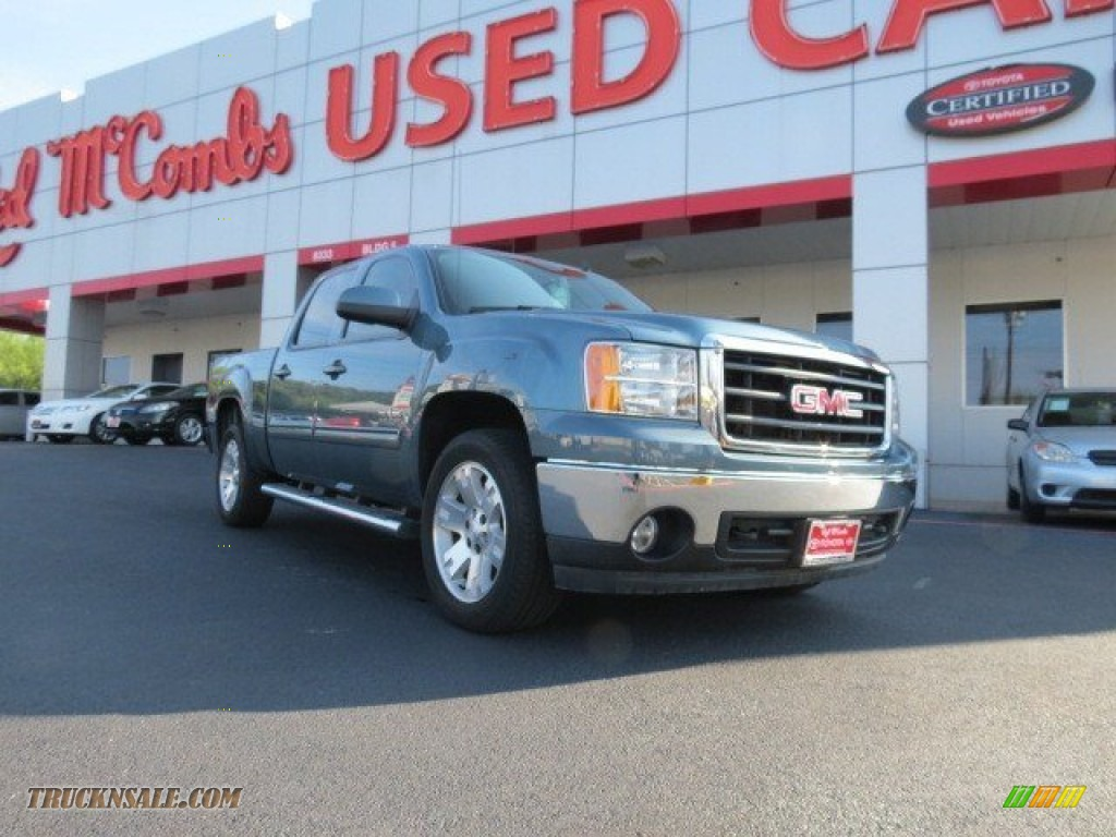 2008 gmc sierra 1500 sle crew cab in stealth gray metallic for Sierra motors san antonio tx