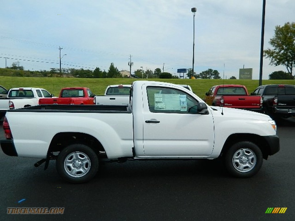 2013 toyota tacoma regular cab in super white photo 2 019643 truck n 39 sale. Black Bedroom Furniture Sets. Home Design Ideas
