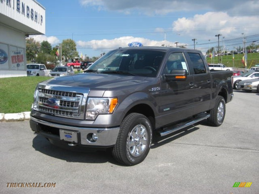 2013 ford f150 xlt supercrew 4x4 in sterling gray metallic photo 2 d02542 truck n 39 sale. Black Bedroom Furniture Sets. Home Design Ideas