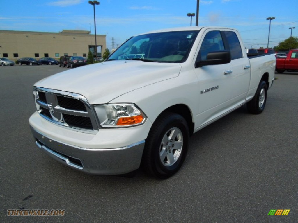 2012 dodge ram 1500 slt quad cab in bright white 225361 for Steve white motors inc
