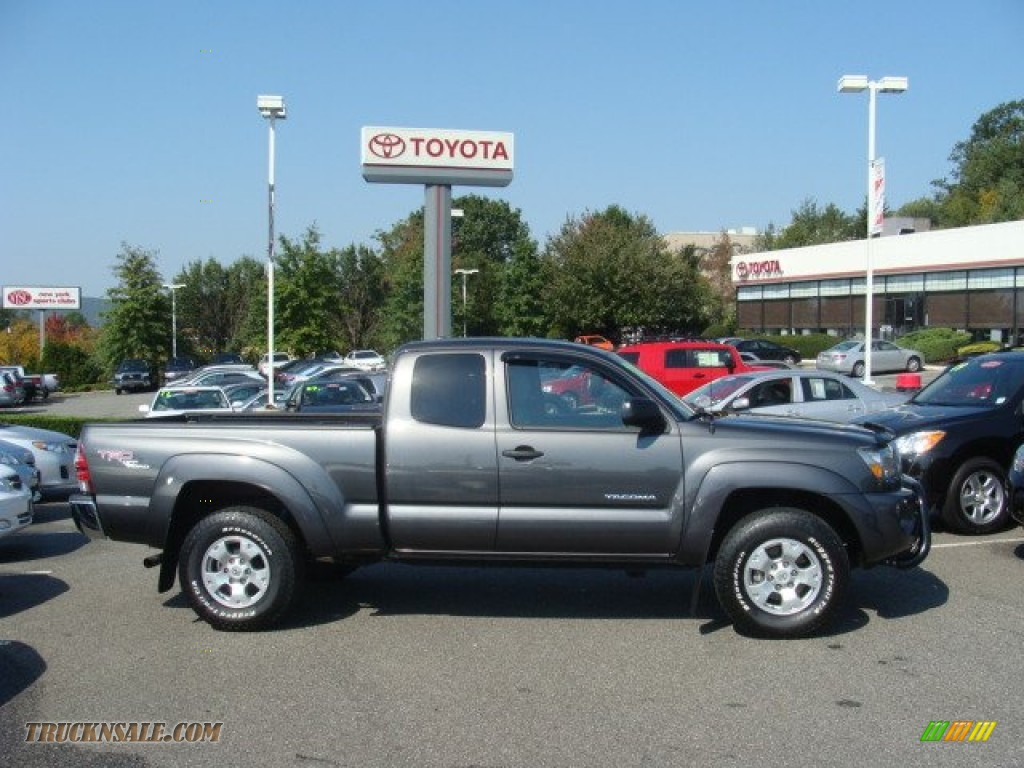 2010 Toyota Tacoma V6 Trd Access Cab 4x4 In Magnetic Gray