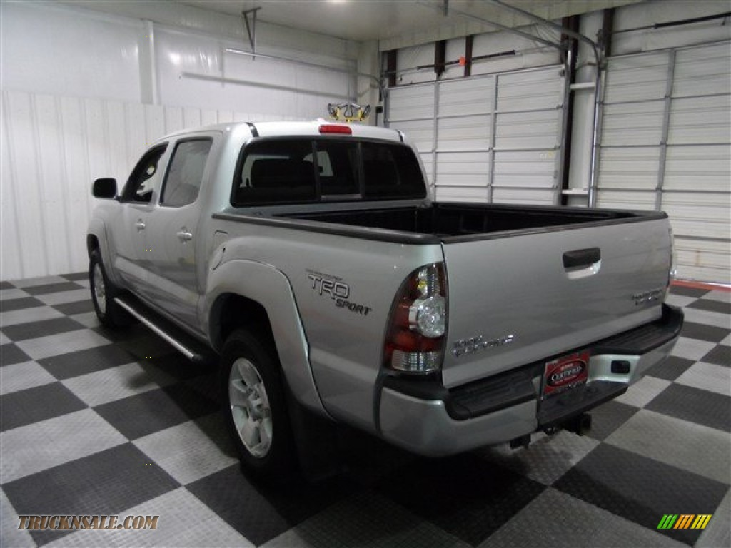 2010 toyota tacoma v6 prerunner trd sport double cab in silver streak mica photo 5 099043. Black Bedroom Furniture Sets. Home Design Ideas