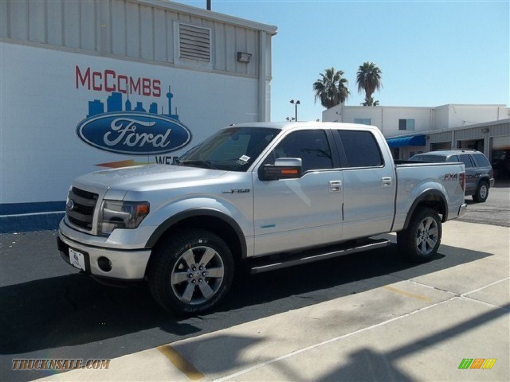 2013 ford f150 fx4 supercrew 4x4 in ingot silver metallic d23267 truck n 39 sale. Black Bedroom Furniture Sets. Home Design Ideas