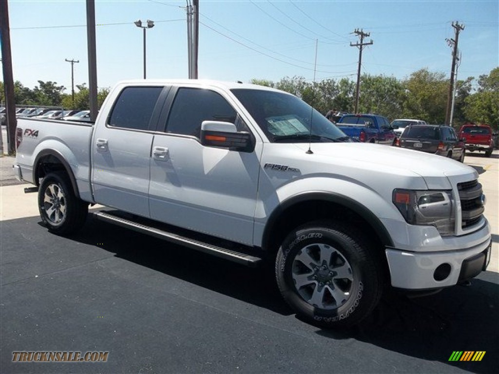 2013 ford f150 fx4 supercrew 4x4 in oxford white photo 22 d23274 truck n 39 sale. Black Bedroom Furniture Sets. Home Design Ideas