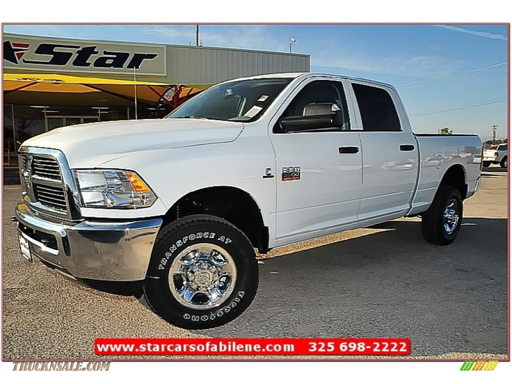 2012 dodge ram 2500 hd st crew cab 4x4 in bright white 284313 truck n 39 sale. Black Bedroom Furniture Sets. Home Design Ideas