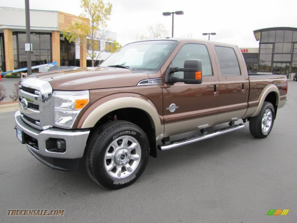 2012 ford f350 super duty lariat crew cab 4x4 in golden bronze metallic a21866 truck n 39 sale. Black Bedroom Furniture Sets. Home Design Ideas