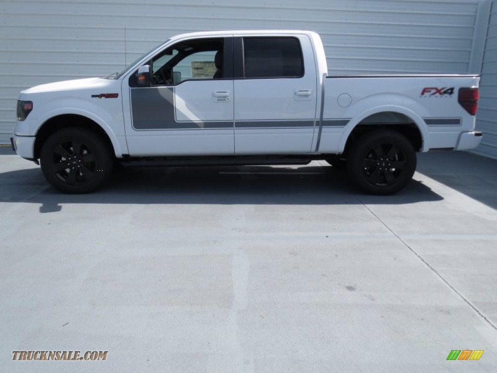 2013 ford f150 fx4 supercrew 4x4 in oxford white photo 5 a04785 truck n 39 sale. Black Bedroom Furniture Sets. Home Design Ideas