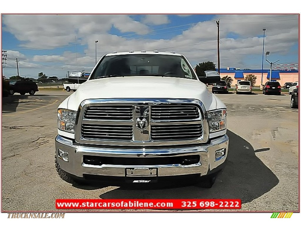 2012 dodge ram 2500 hd laramie limited mega cab 4x4 in bright white photo 9 296315 truck n. Black Bedroom Furniture Sets. Home Design Ideas