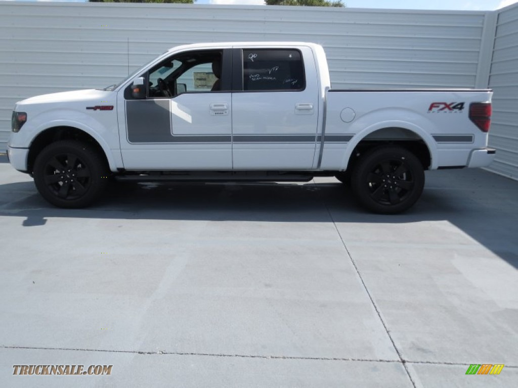 2013 Ford F150 FX4 SuperCrew 4x4 in Oxford White photo #5 ...
