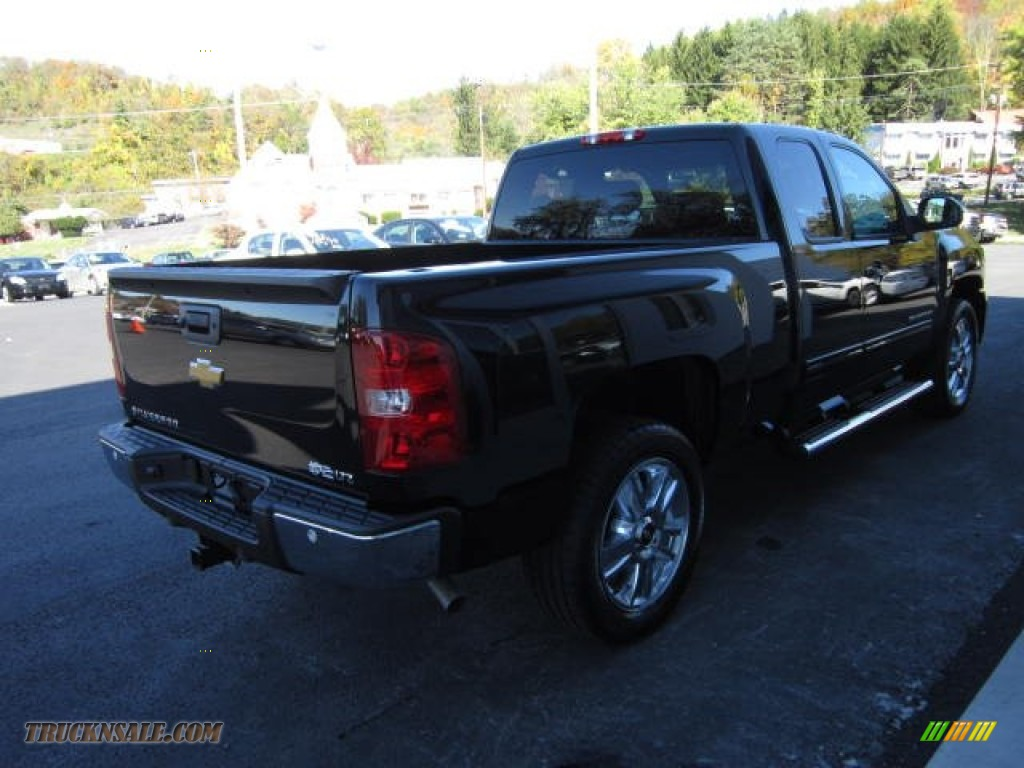 2013 chevrolet silverado 1500 ltz extended cab 4x4 in black photo 6 150521 truck n 39 sale. Black Bedroom Furniture Sets. Home Design Ideas