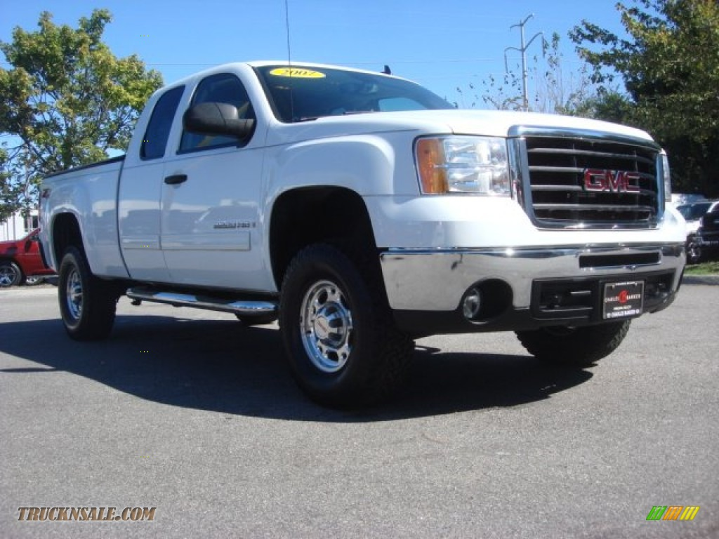 2007 gmc sierra 2500hd sle extended cab 4x4 in summit. Black Bedroom Furniture Sets. Home Design Ideas