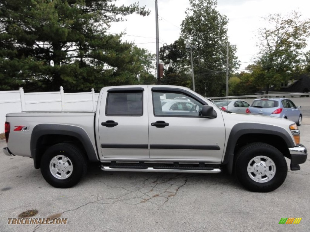 2007 chevrolet colorado lt crew cab 4x4 in silver birch. Black Bedroom Furniture Sets. Home Design Ideas
