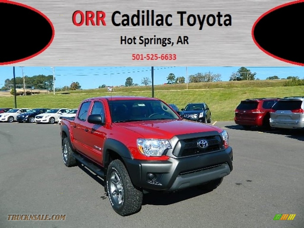 2013 toyota tacoma tss prerunner double cab in barcelona red metallic photo 6 016564 truck. Black Bedroom Furniture Sets. Home Design Ideas