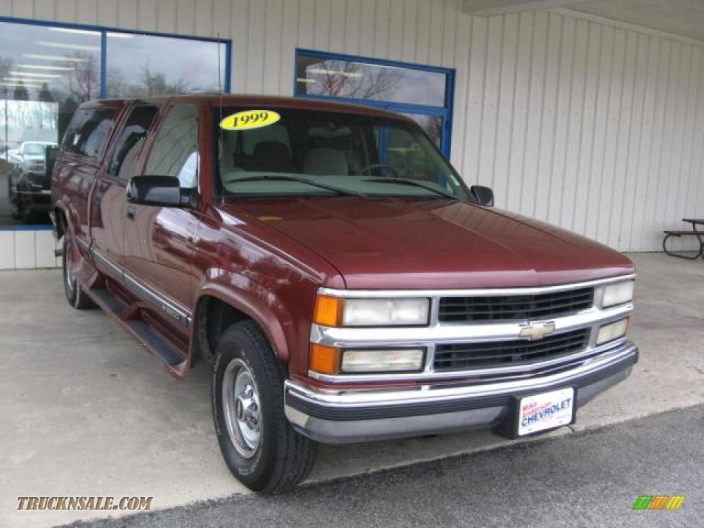 1999 Chevrolet Silverado 2500 LS Crew Cab in Dark Carmine ...