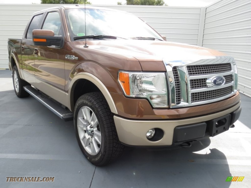 2012 ford f150 lariat supercrew 4x4 in golden bronze metallic c94332 truck n 39 sale. Black Bedroom Furniture Sets. Home Design Ideas