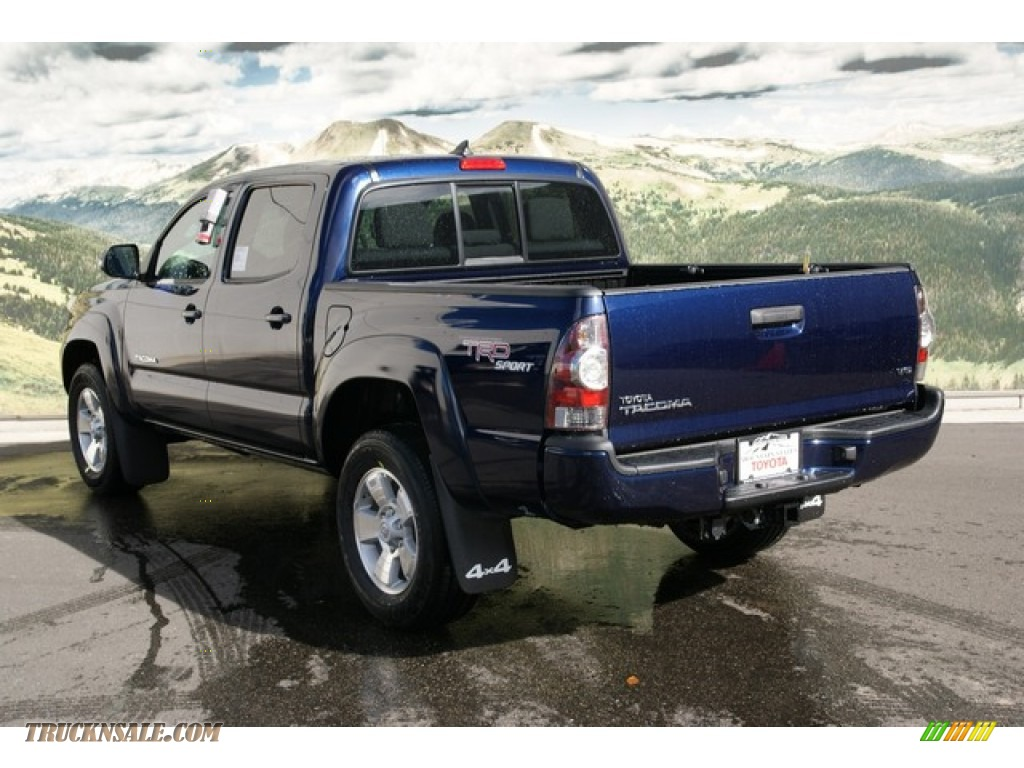 2013 toyota tacoma v6 trd sport double cab 4x4 in nautical blue metallic photo 2 106467. Black Bedroom Furniture Sets. Home Design Ideas