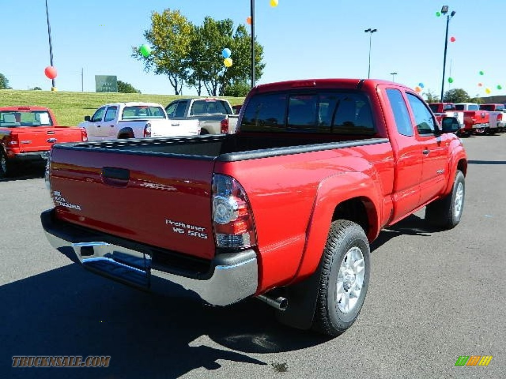 2013 toyota tacoma v6 sr5 prerunner access cab in barcelona red metallic photo 3 032967. Black Bedroom Furniture Sets. Home Design Ideas