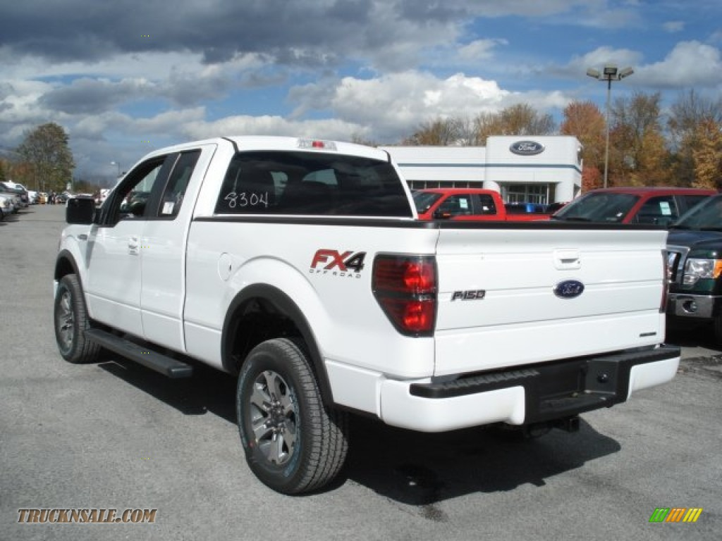 2013 ford f150 fx4 supercab 4x4 in oxford white photo 6 a28304 truck n 39 sale. Black Bedroom Furniture Sets. Home Design Ideas