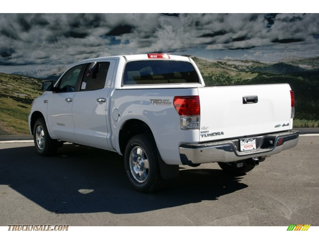 2013 toyota tundra limited crewmax 4x4 in super white photo 3 275266 truck n 39 sale. Black Bedroom Furniture Sets. Home Design Ideas