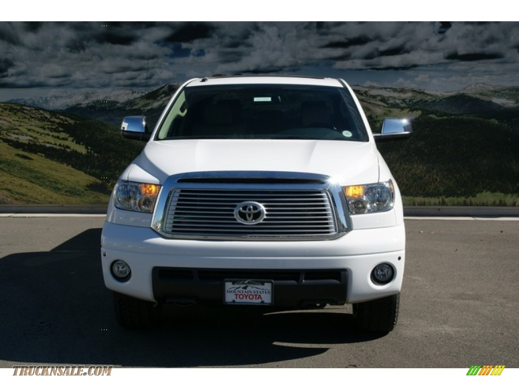 2013 toyota tundra limited crewmax 4x4 in super white photo 4 275266 truck n 39 sale. Black Bedroom Furniture Sets. Home Design Ideas